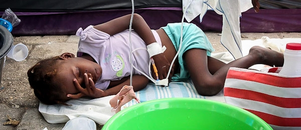 Cholera likely to stay in Haiti