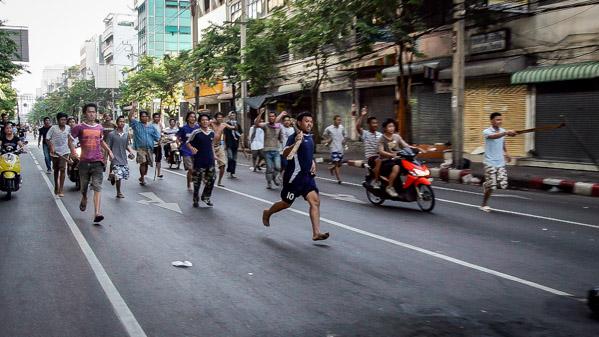 bangkok shut down