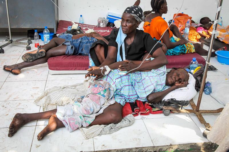 UN Hit With Lawsuit Over Haiti Cholera Outbreak