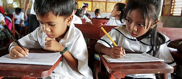 School in The Philippines in progress