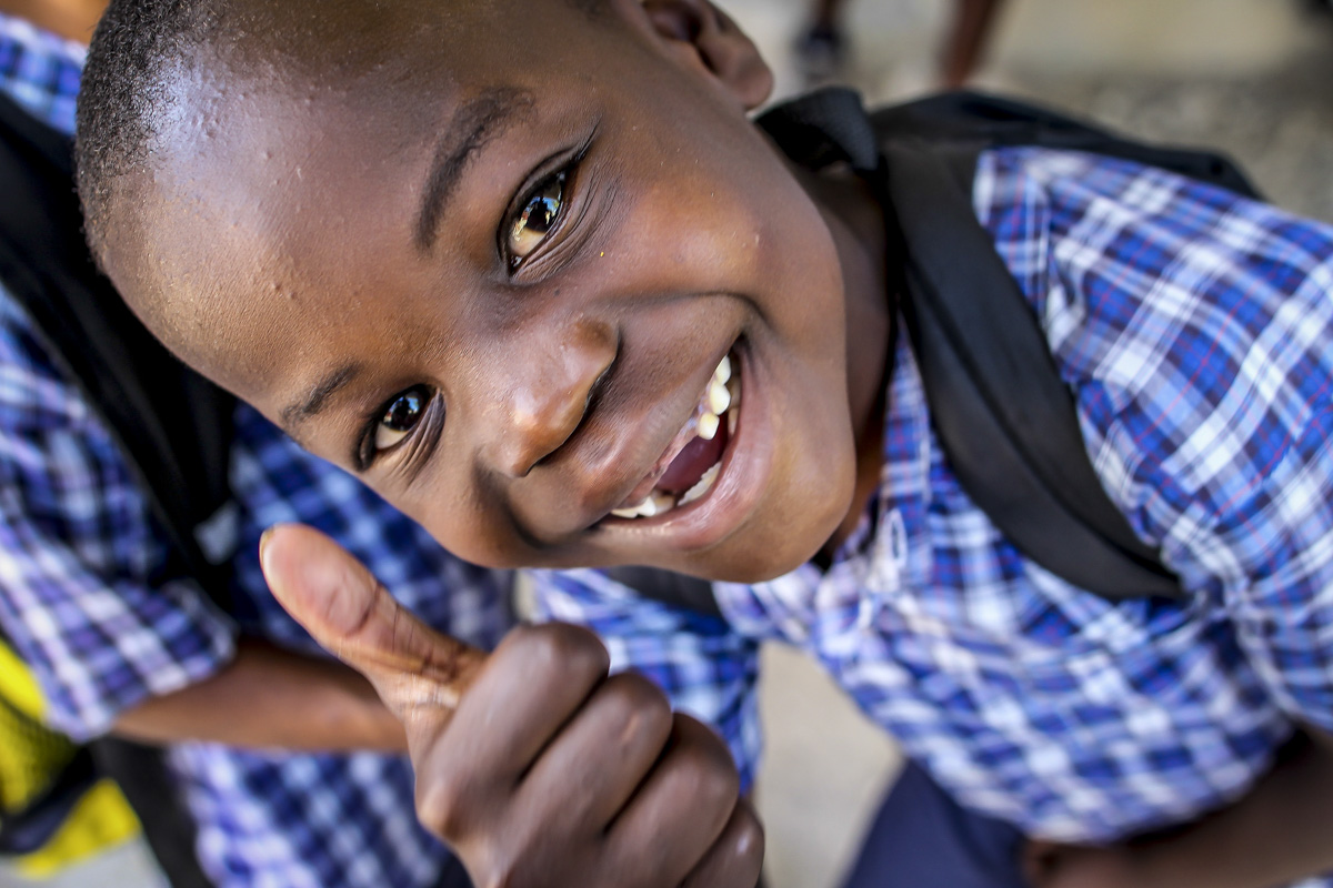 School is out – Haiti