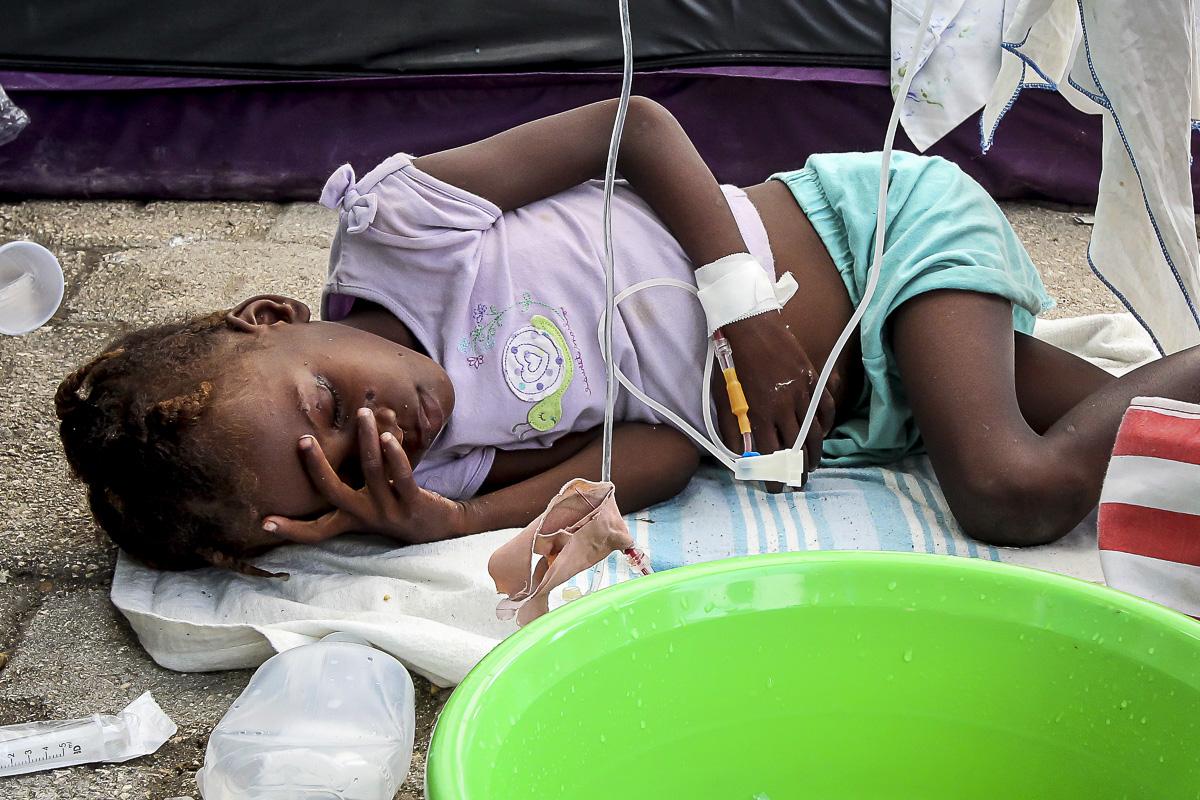 UN admits Haiti cholera outbreak
